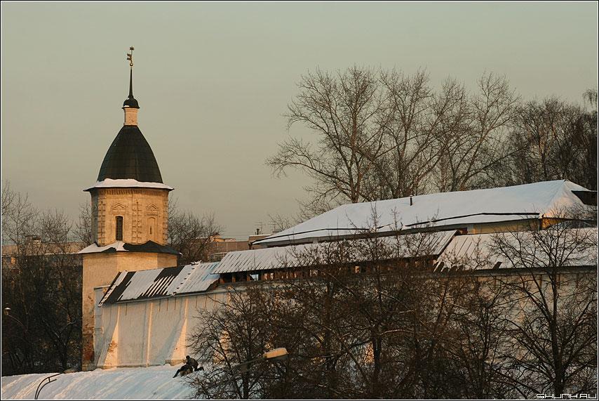Башенка - башня зима собор фото фотосайт