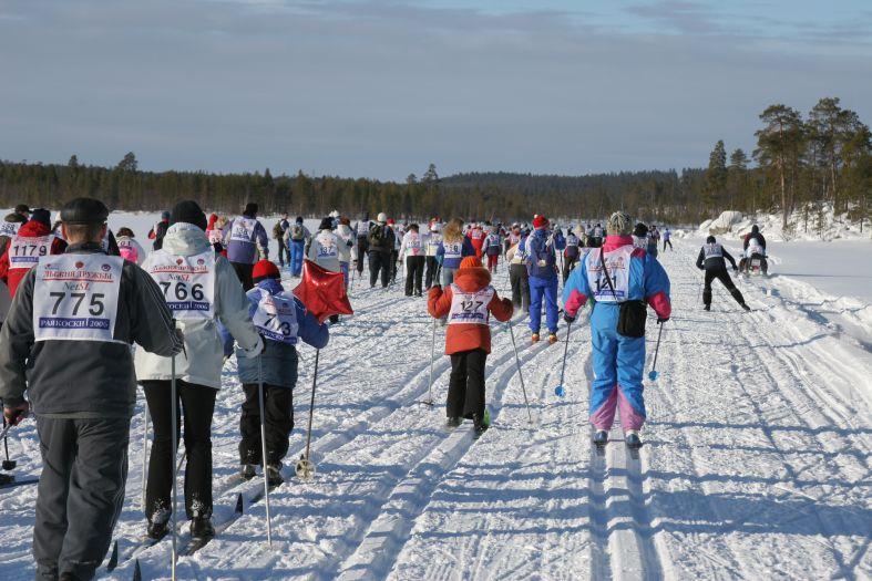 На лыжне - лыжня дружбы фото фотосайт