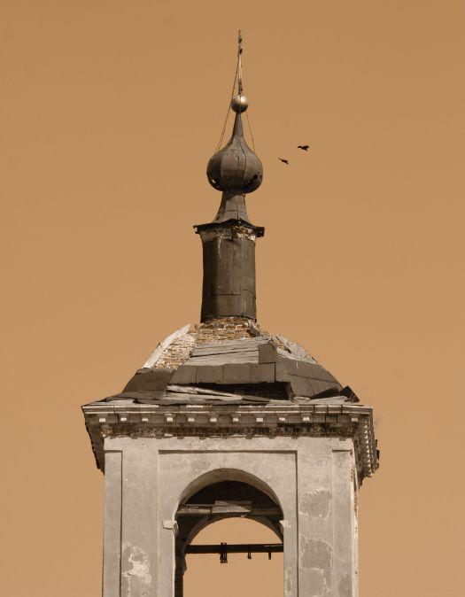 Налетело воронье... - купол церковь верея фото фотосайт