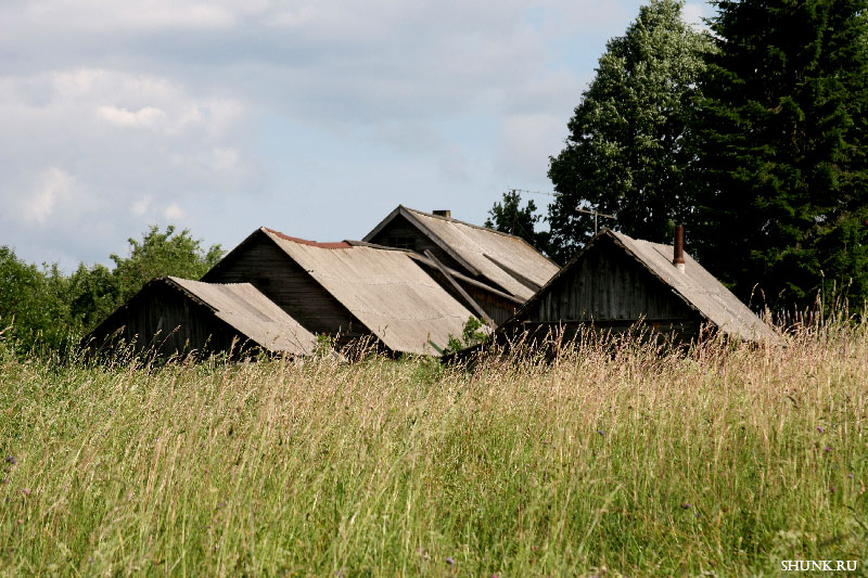 Троица - крыши домов фото фотосайт