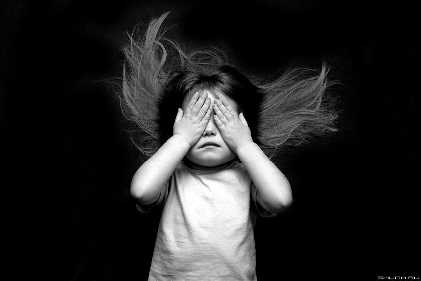 ...я встретил ангела! - малыш волосы закрыты глаза ребенок фото фотосайт