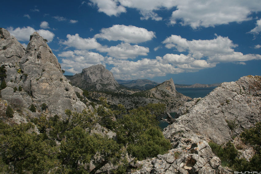 Страна гор, вин и коньяков - крым горы небо фото фотосайт