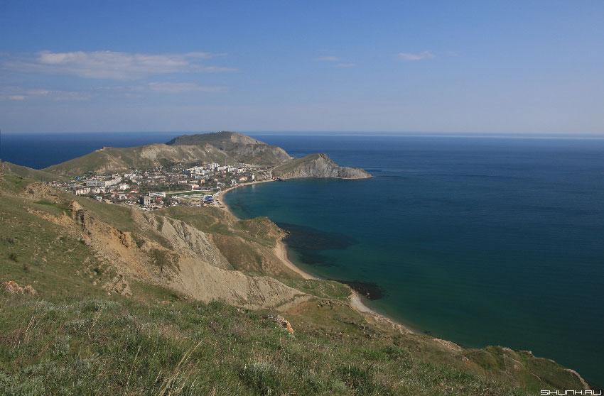 Город имени Серго Орджоникидзе - Крым берег море фото фотосайт