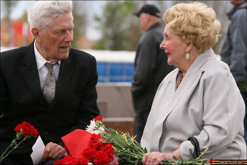 ...прошли вместе всю войну - 9 мая день победы поклонная гора ветераны фото фотосайт