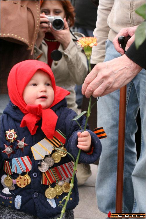 Малыш =) - 9 мая день победы поклонная гора ветераны фото фотосайт