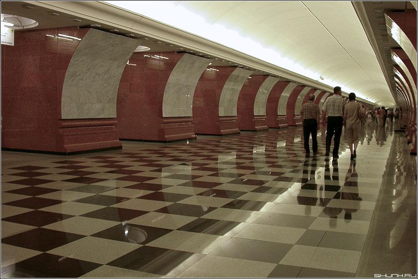 Новая станция - блеск станция парк победы метро фото фотосайт