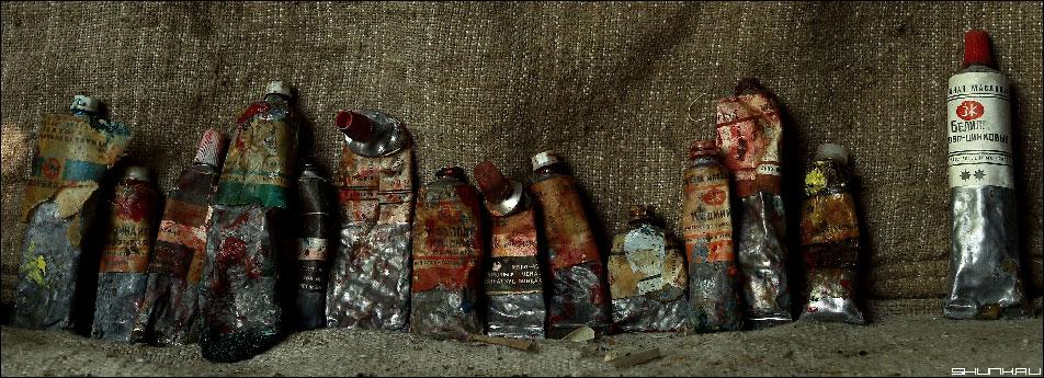 Немного о художнике - краски холст масло фото фотосайт