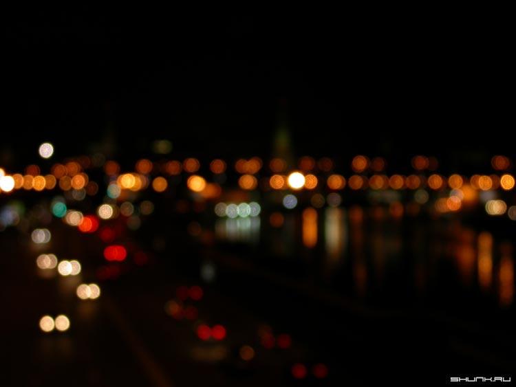 Усталость - москва нерезко ночь огни размытие фото фотосайт