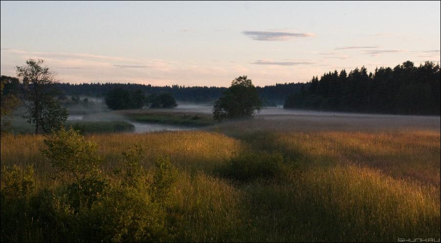 О туманах, о лете и о закате - туман лето начало июля фото фотосайт