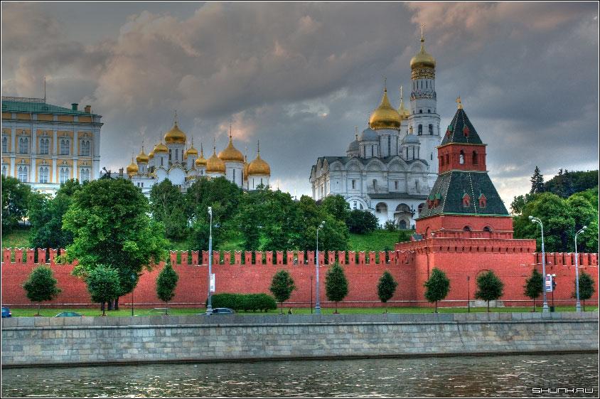 Пробы HDR - москва кремль набережная HDR фото фотосайт