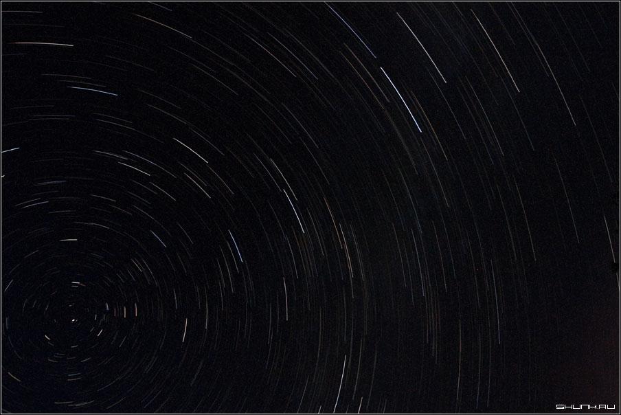 Небо Августа - небо звезды звездная дорожка фото фотосайт