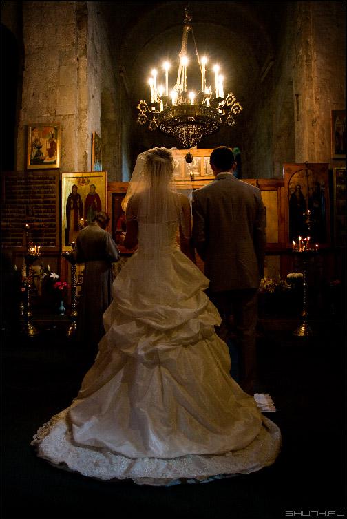 Венчание - венчание в церкви фото жених невеста фото фотосайт