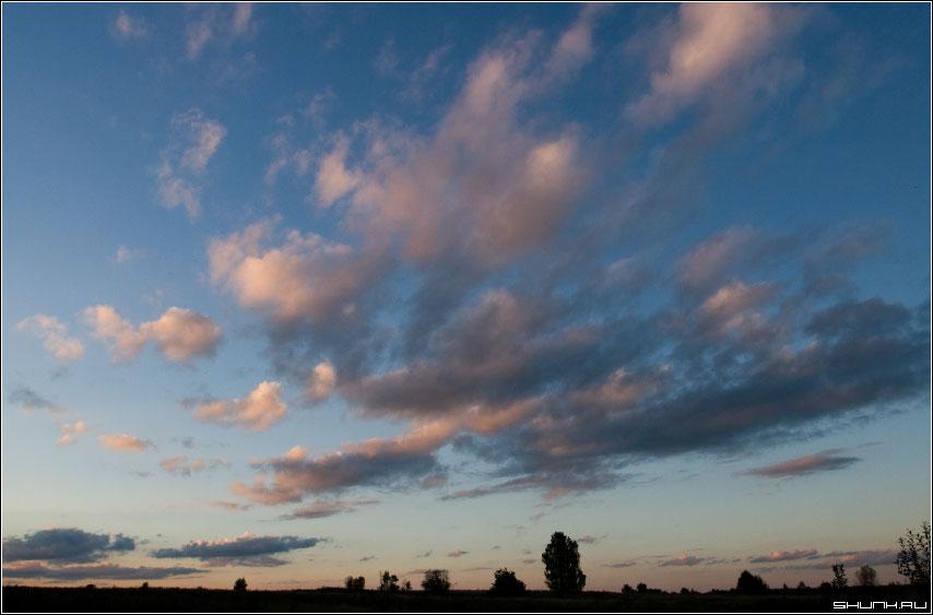 9915-й закат моей жизни - закат небо лучи тучи фото фотосайт