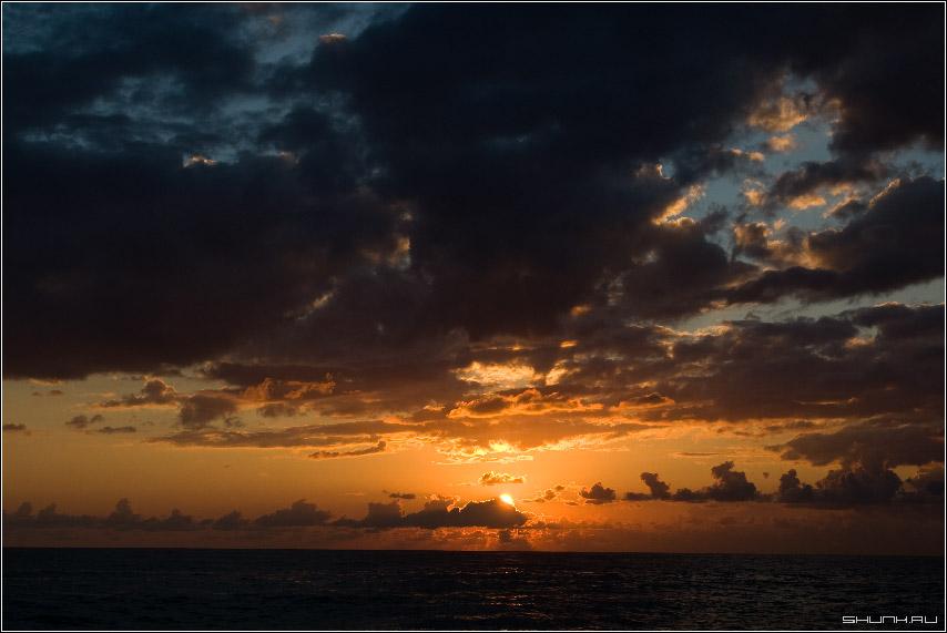 Цвета заката - сочи небо закат обои фото фотосайт