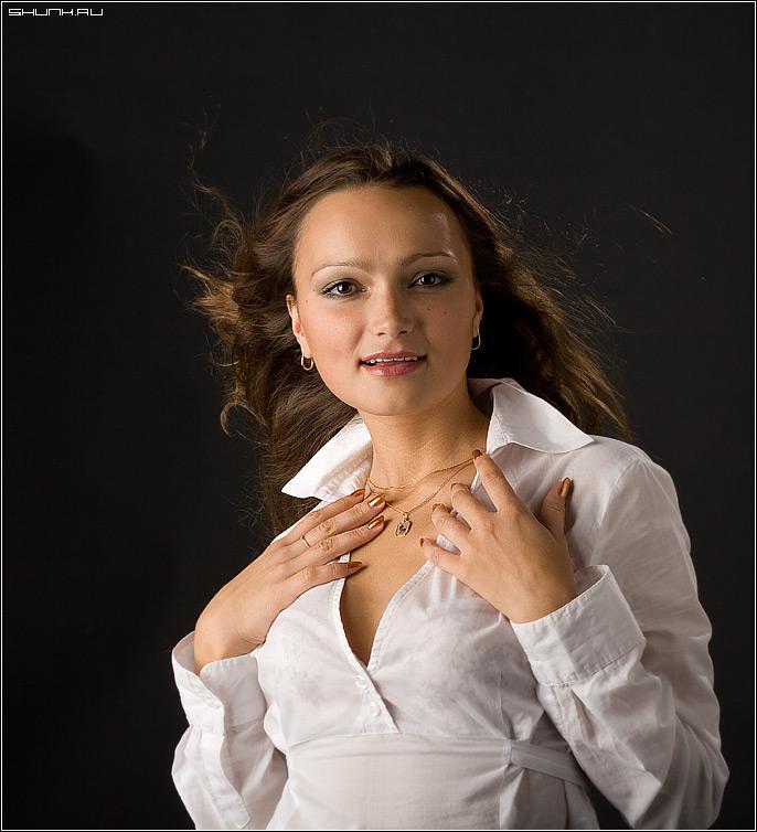 Рабочий портрет - студия актриса модель фото фотосайт