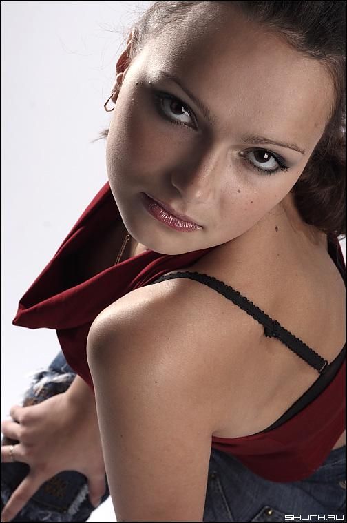 Портрет - студия модель студийная съемка фото фотосайт
