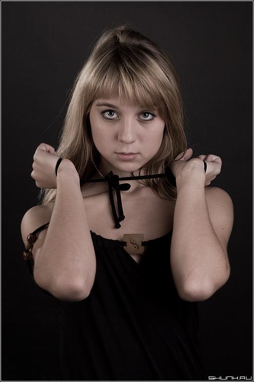 Ни о чем - портрет студия девушка фото фотосайт