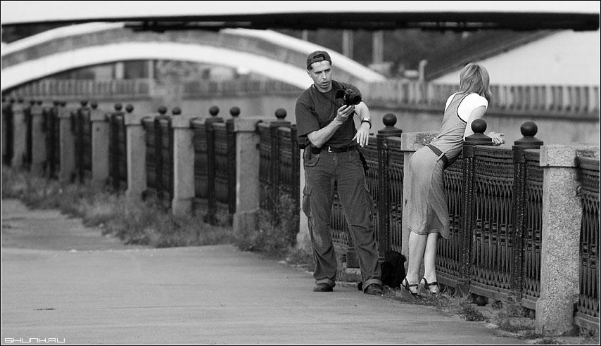 Коллега... - фотосессия набережная москва река проходил мимо фото фотосайт