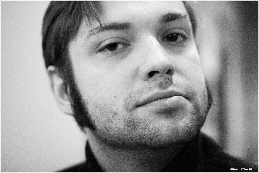 Анти Фьюжн - борода поросль портрет петр чернобелое зерно фото фотосайт