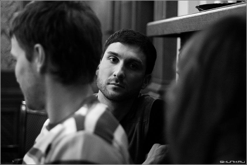 Разговор - брат ега чб черно-белое вано фото фотосайт