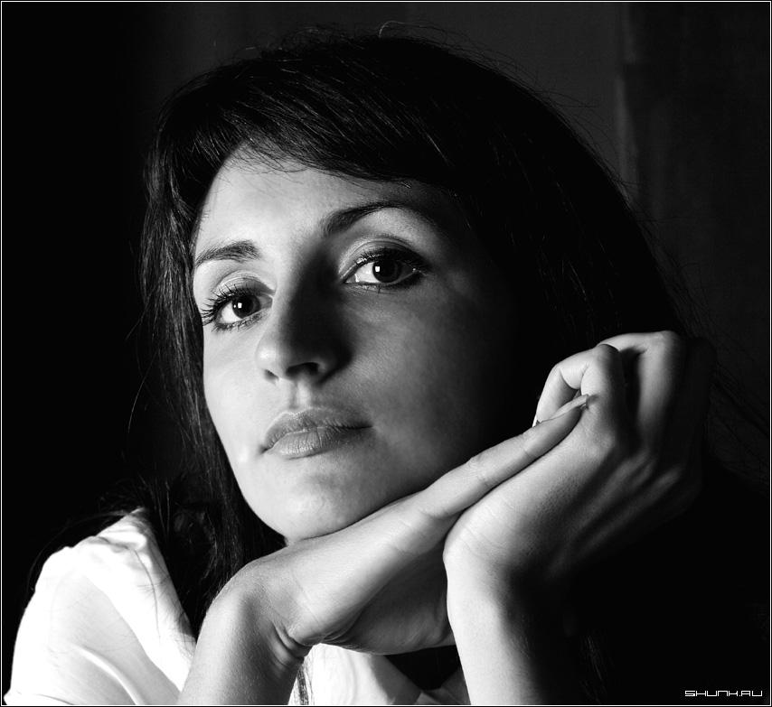 Недооцененный портрет - портрет студия анна черно-белое фото фотосайт