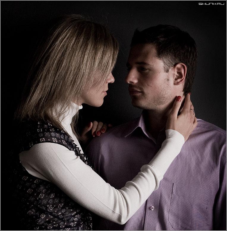 С днем Святого Валентина! - студия портрет пара любовь фото фотосайт