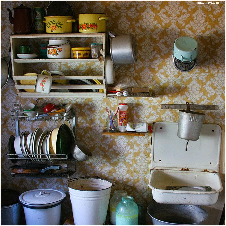 Кухня - дом деревня кухня цвет квадрат фото фотосайт