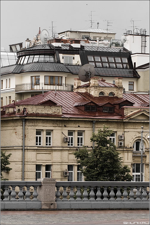 Крыши - ххс крыши архитектура хаос фото фотосайт