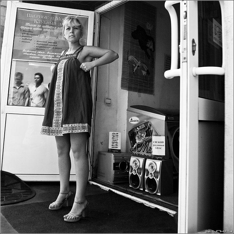 Есть женщины в русских селеньях - женщина магазин платье чернобелая квадрат фото фотосайт