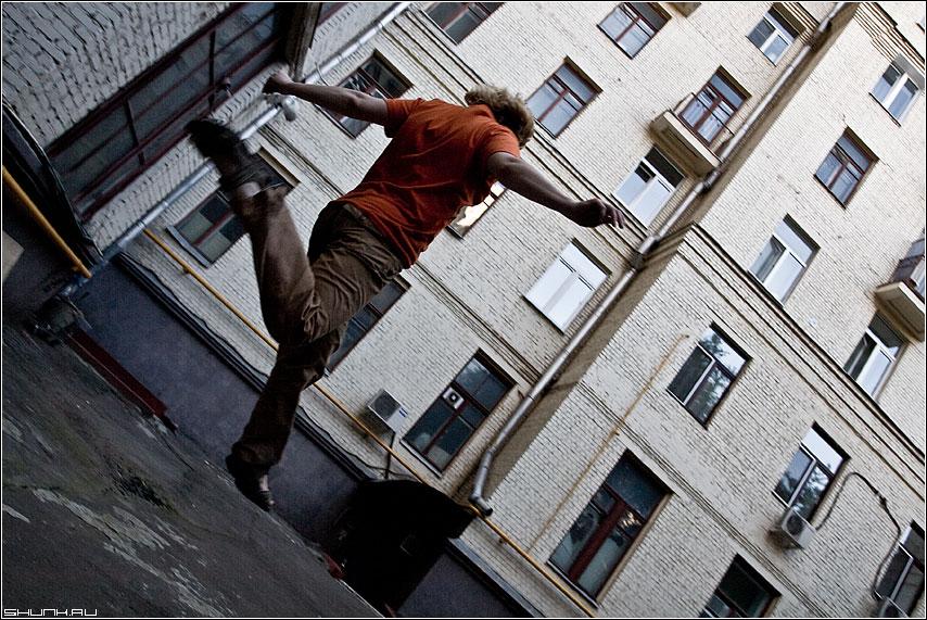 Прыг - двор прыжок оранжевый фото фотосайт