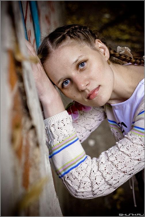 Грусть - прогулка съемка девушка грусть портрет фото фотосайт