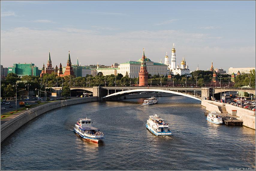 Парохододвижение - москва лето река кремль позитив фото фотосайт