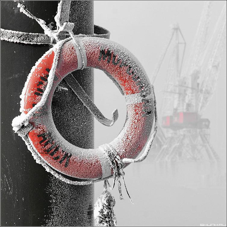 Спасательный КРУГ - круг спасательный порт мурманск квадрат красный  палитра красный фото фотосайт