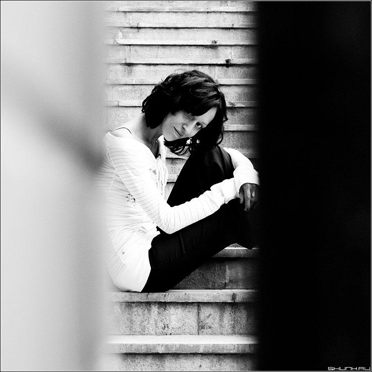 Полосы жизни - черное белое квадрат девука фотопрогулка кэт фото фотосайт