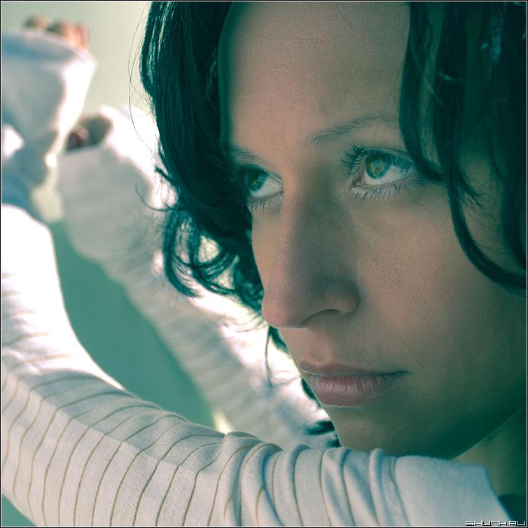 Нежный взгляд - портрет цвет квадрат нежность девушка кэт фото фотосайт