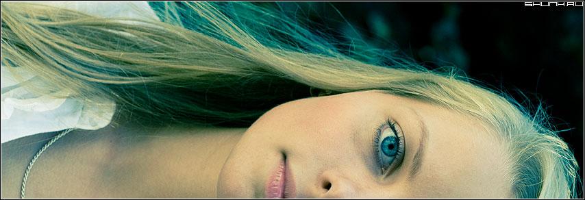 Портрет 1/2 с поворотом - портрет девушка глаз цвет фотопрогулка фото фотосайт