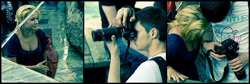 Фотоистория - он она фотограф обработка серия фото фотосайт