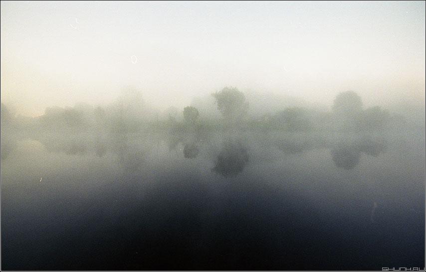 ...похож на обман - туман деревня kodak пленка речка фото фотосайт
