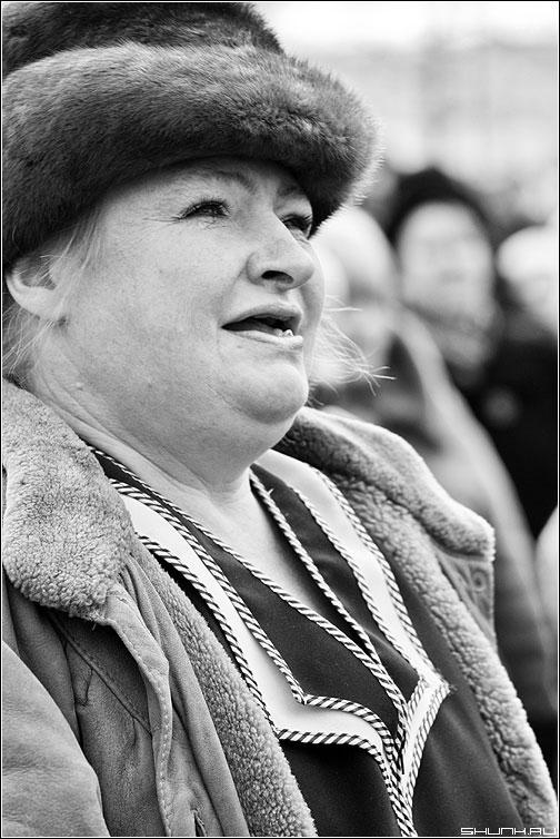 Барышня - портрет черно-белый барышня шапка фото фотосайт