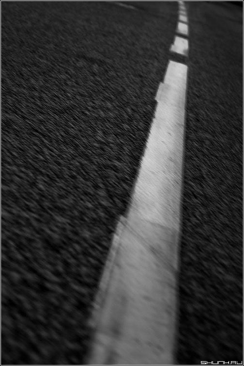 Полоса - дорога полоса черно-белая разное фото фотосайт