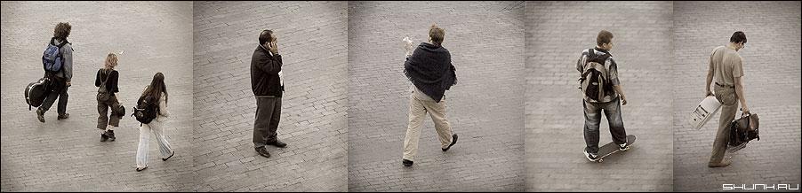 Какие мы разные... - люди улица разные обработка коллаж фото фотосайт