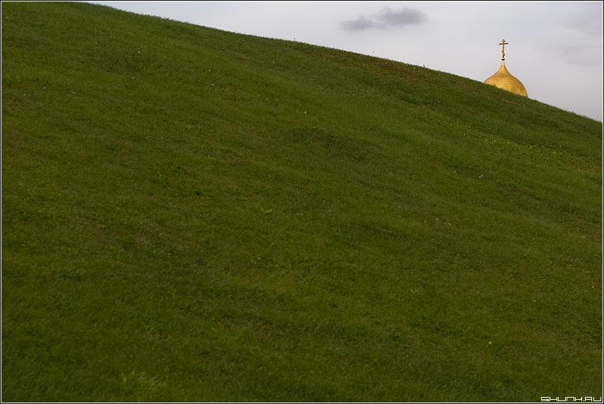 Восход - купол поляна небо облачко поклонка фото фотосайт