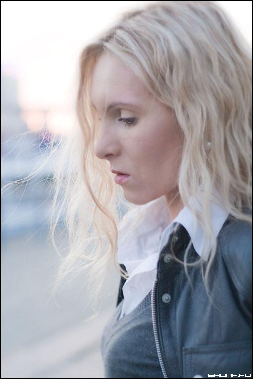 Ни слова о цвете волос... - девушка портрет волосы блондинка фото фотосайт