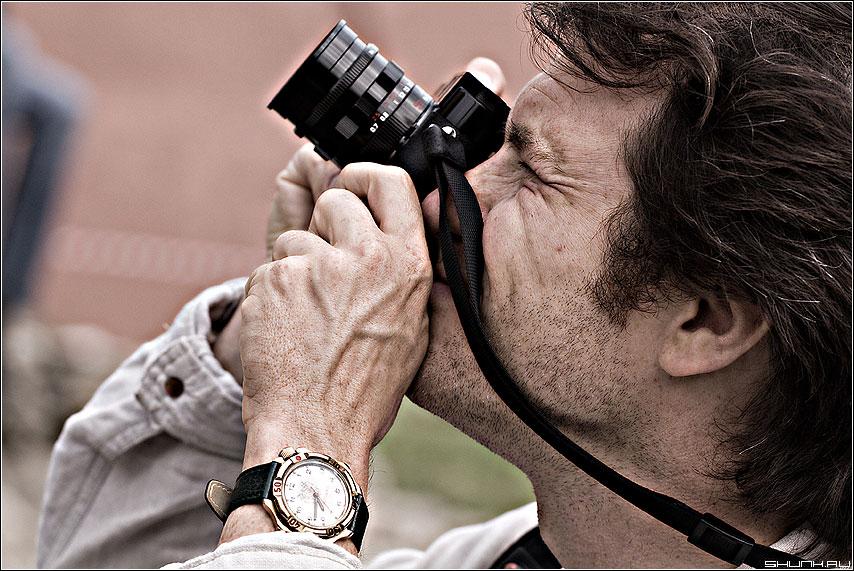 Что то интересное увидел - фотограф фотолюди часы объектив dave фото фотосайт
