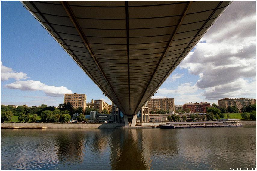 Непосредственно под - мост москва деловой центр цвет пленка konika фото фотосайт