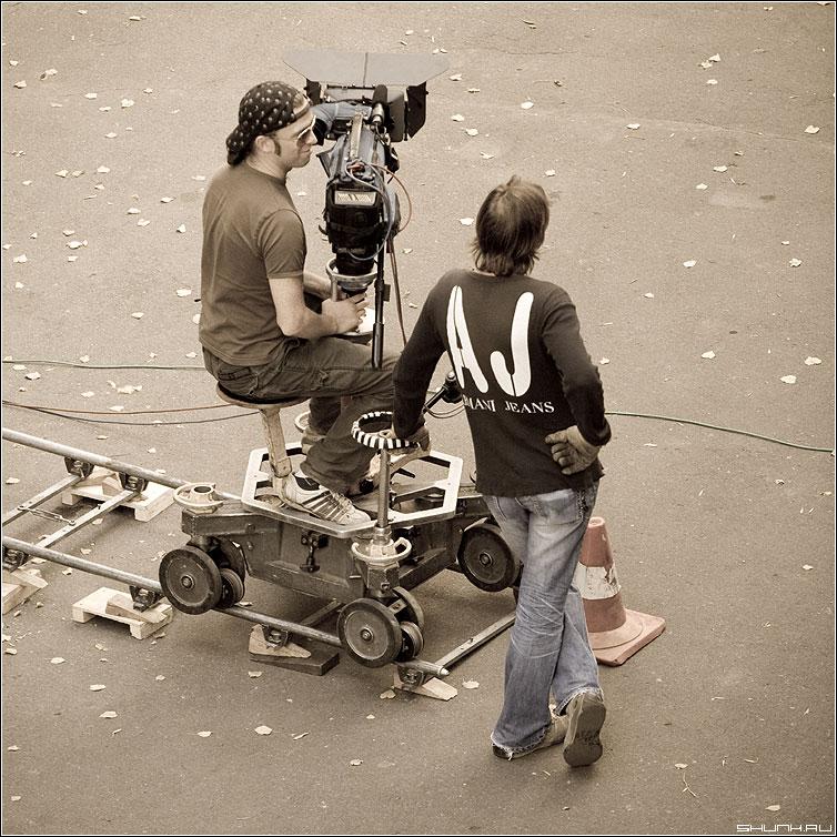 Про оператора и его помощника - профессия оператор стилизация помощник квадрат фото фотосайт