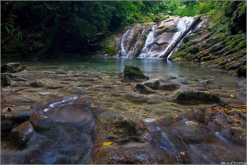 Водопады... - сочи хоста 33 водопада водопад фото фотосайт