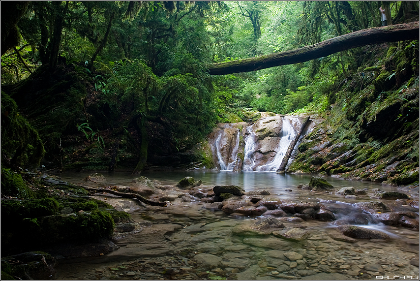 Про камушки... - сочи хоста 33 водопада водопад фото фотосайт