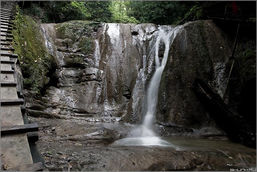 Молочный водопад - сочи 33 водопада водопад хоста фото фотосайт