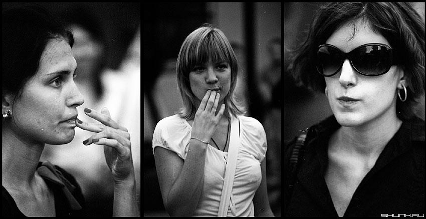Про сомнения - девушки портрет пленка чёрнобелые руки сомнения фото фотосайт